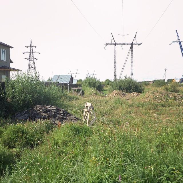 ЛЭП рядом с домом