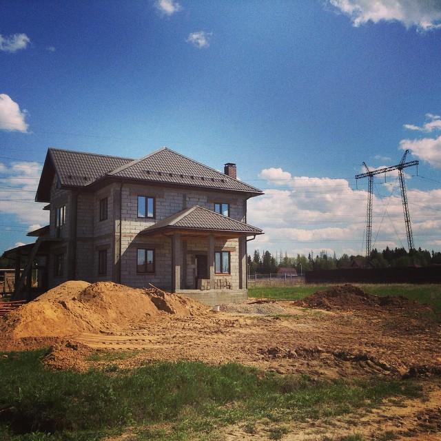 строительство домов под лэп